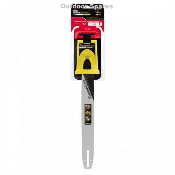 "Stihl MS170 14"" PowerSharp Bar Mount Sharpener & Guide Bar Fits MS180"