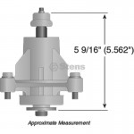 "AYP 48"" Deck Spindle Assembly Fits 2002 And After Stens Replacement Part"