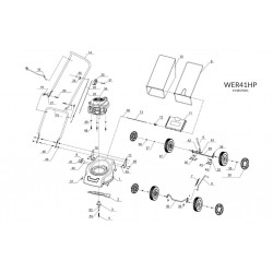 Webb WER41HP Deck Parts