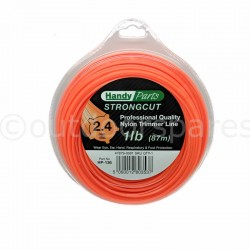 "Nylon Strimmer, Brushcutter Line ""strongcut"" Pro Quality 1lb Roll 2.4mm x 87m"