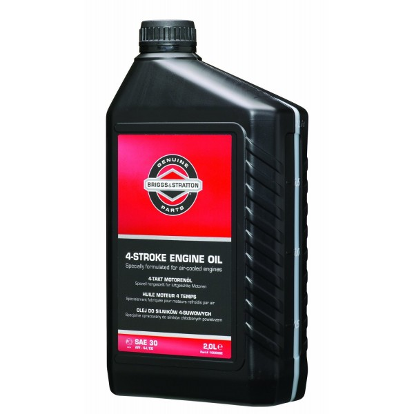 Briggs & Stratton Engine Oil SAE30 2 Litre Bottle