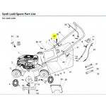 Sanli Petrol Lawnmower Handle Fixing Pin  XX101037