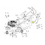 Sanli Petrol Lawnmower Handle Bolt  XX101037