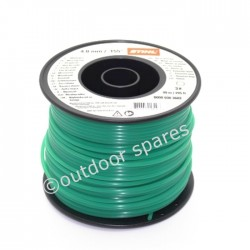 Genuine Stihl 4mm x 295ft Round Strimmer & Brushcutter Nylon Line ST00009303603
