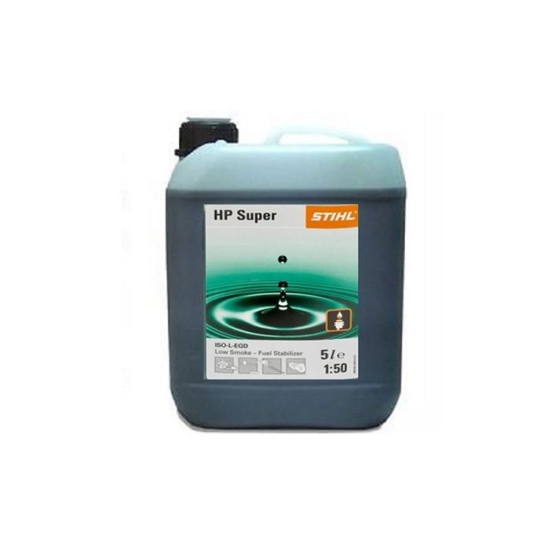 Stihl 2 Stroke Oil HP Super Semi Synthetic 5 Litre Bottle 0781 319 8055