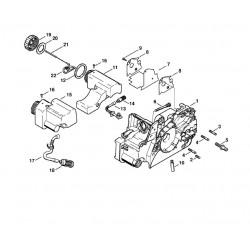 engine housing rh outdoorspares com Chainsaw Buick Chainsaw Engine Bike