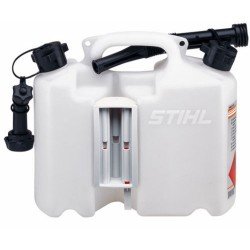 Stihl Transparent Combination Safety Can 5L Fuel 3L Chain Oil 0000 881 0123