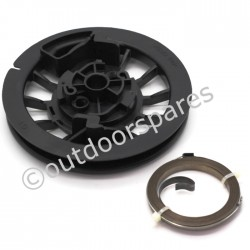 Mountfield RM45 Recoil Pulley & Spring Fits HP454 S501R PD 118550778/0 Genuine Replacement