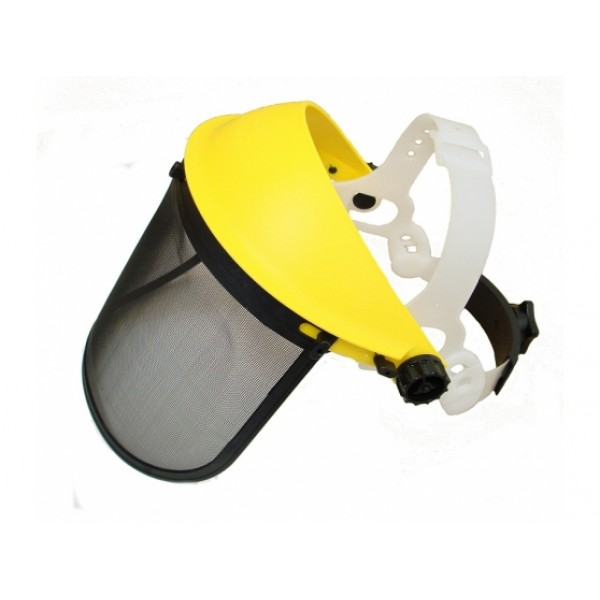 Face Shield with Mesh visor optimum face protection for Strimmer & Brushcutter