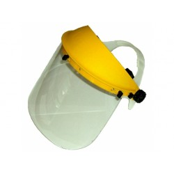 Face Shield with clear visor optimum face protection for Strimmer & Brushcutter