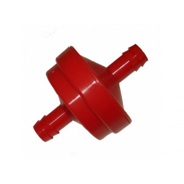 Lawnmower Inline Fuel Filter 150 Micron 6mm In Out Quality Replacement Part
