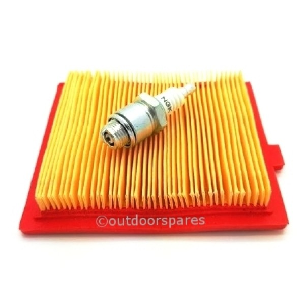 Mountfield RV150 Air Filter & Spark Plug Fits SV150 V35 Genuine Replacement Part